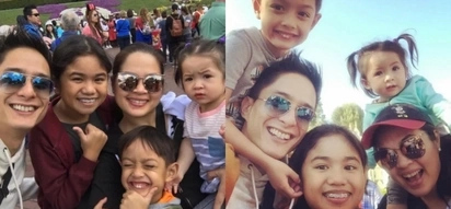 Ryan Agoncillo and Judy Ann Santos have a blast with their family in the 'happiest place on Earth'