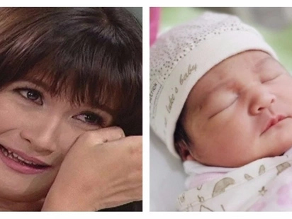 Camille Prats introduces her precious newborn baby girl: 'World, meet our princess'