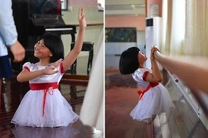 Amazing virtuosity! Little ballet dancer with no legs makes the performance of a lifetime (photos, video)