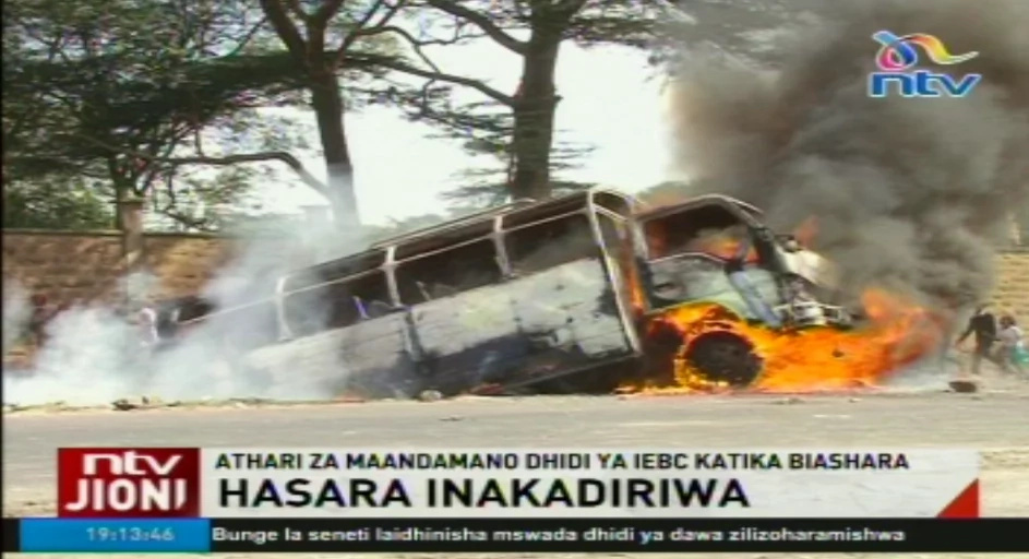 Matatu owners warn CORD over anti-IEBC demonstrations