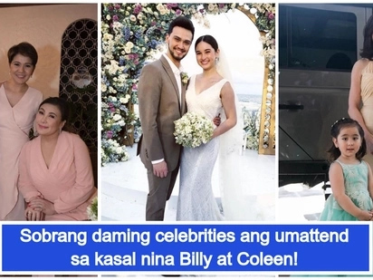 Star-studded talaga! Celebrities spotted in Billy Crawford and Coleen Garcia's wedding in Balesin