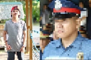 Begging son of a Filipino police cries for help: Inosente po si papa!
