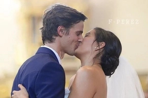 Notable scenes from Isabelle Daza and Adrien Semblat's lavish wedding