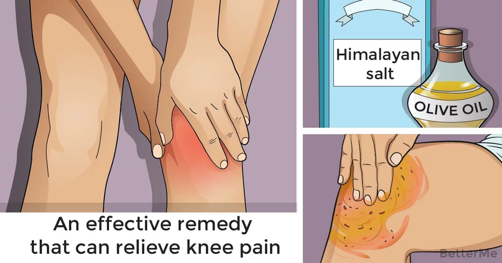 An effective remedy that can relieve knee pain