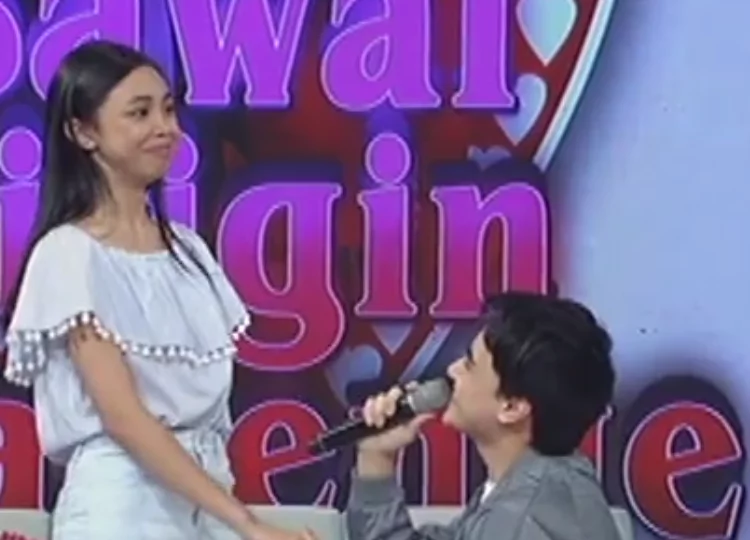 Edward Barber's romantic way of asking Maymay Entrata to be his date to the Star Magic Ball