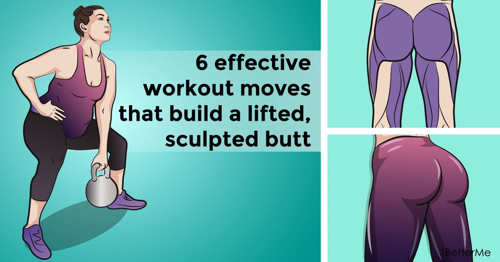 6 effective workout moves that build a lifted, sculpted butt