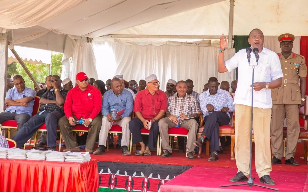Uhuru on opposition