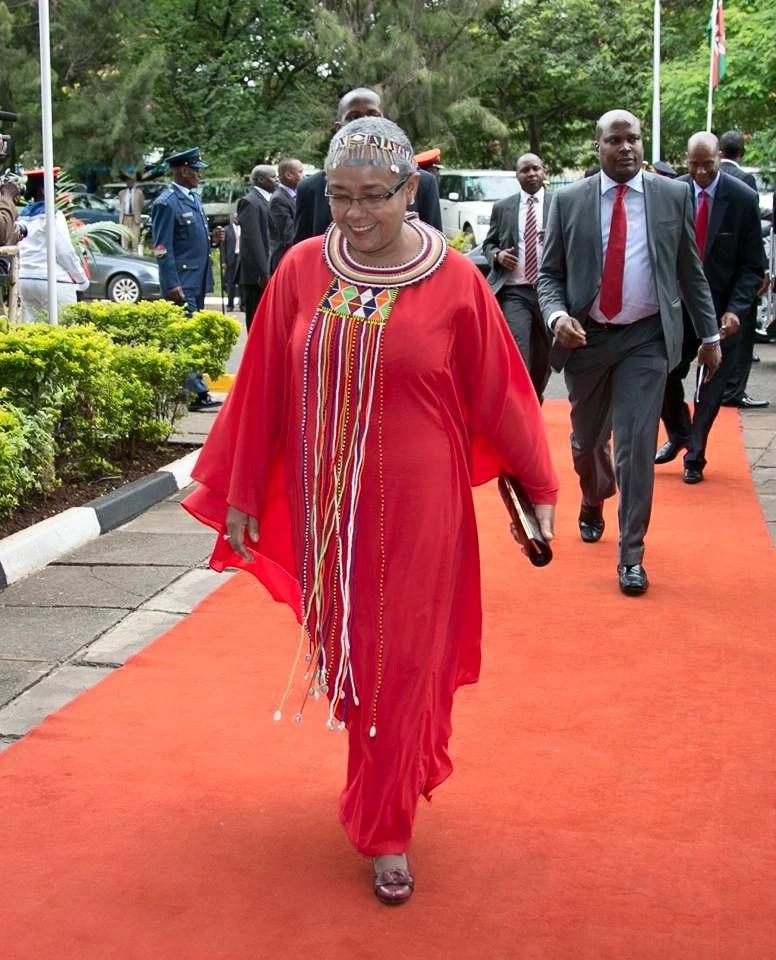 Picha za Margaret Kenyatta zinazopendeza zaidi