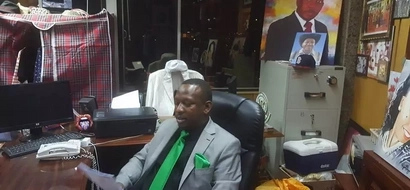 Photos: Senator Mike Sonko defends his 'untidy' office, explains why