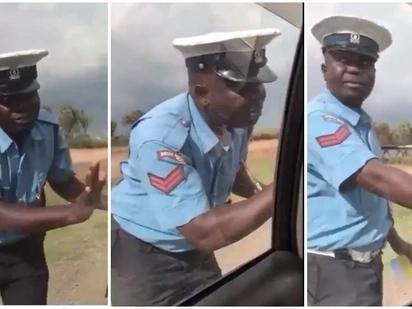 Polisi Trafiki aliyenaswa kwenye video akipokea rushwa karibuni atafutwa kazi - Boinnet