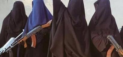 Islamista radicalizada suicida utiliza a 3 pequeños niños como señuelo y luego se vuela a sí misma