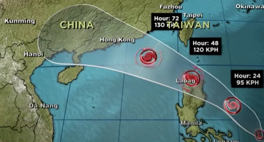 Carina threatens Cagayan area, Signal No.2 declared