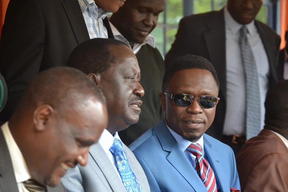Ababu Namwamba apologises to Mudavadi for ignoring him