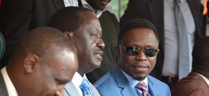 Top ODM member defends Raila from Ababu Namwamba's 'lies'
