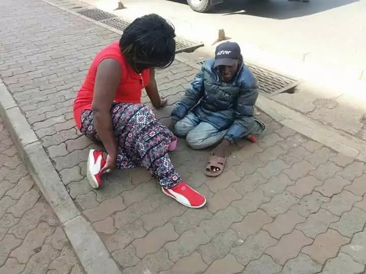 Rachel Shebesh embarrassed after mocking a beggar in the streets