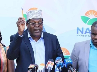 Miguna dismisses Raila's statement, maintains that NASA CEO is Jubilee mole