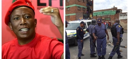 Malema says well-paid police officers won't accept bribes