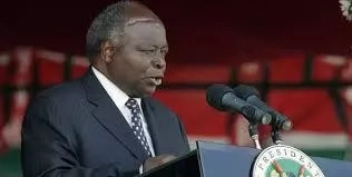 Mwai Kibaki re-emerges after surgery in South Africa and offers this secret to getting a job easily