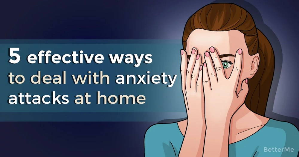 5 effective ways to deal with anxiety at home