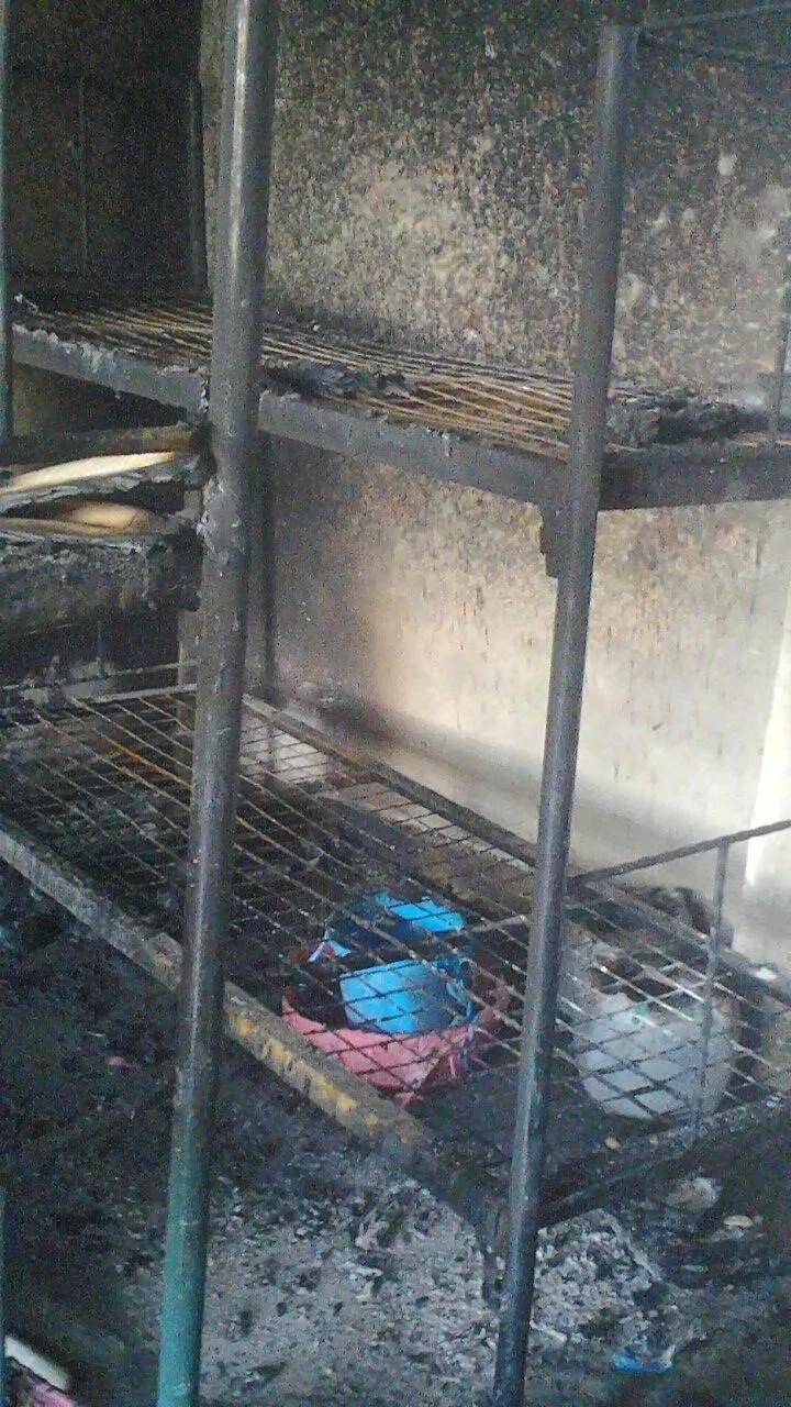 Kijana wa darasa la 7 ateketeza shule Mombasa (Picha)