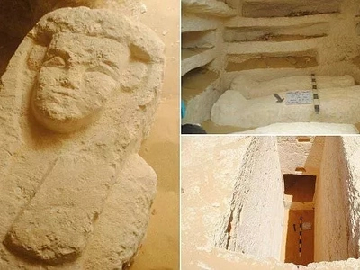 The great cemetery! Archaeologists discover three 2,000-year old tombs