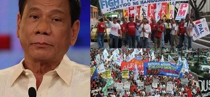 Pangakong napako! Laborers decry unfulfilled promise of Pres. Duterte to end contractualization