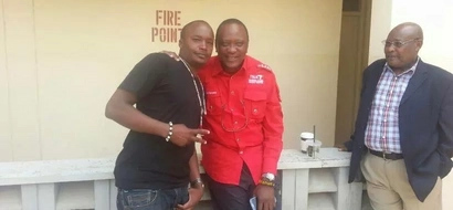 Uhuru's celebrity friend's love for top-of-the-range cars is surely unmatched (photos)
