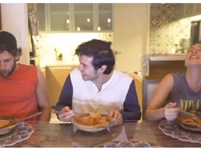 Anghang! Erwan Heussaff threw up all over Solenn and Nico's place after trying the Spicy Noodle Challenge