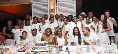 Uhuru's niece holds 40th birthday party in private jet