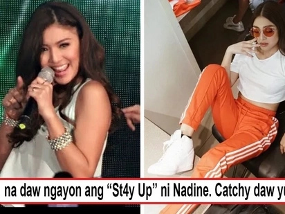 "Ang bilis bumenta! Nadine Lustre's new single ""St4y Up"" immediately trends a few hours after its release"