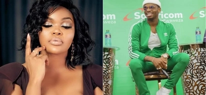 Diamond fans relationship rumours after notoriously flirting with ex lover, Wema Sepetu