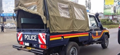 Residents BLAST Kisumu police officers after watchman is killed in robbery