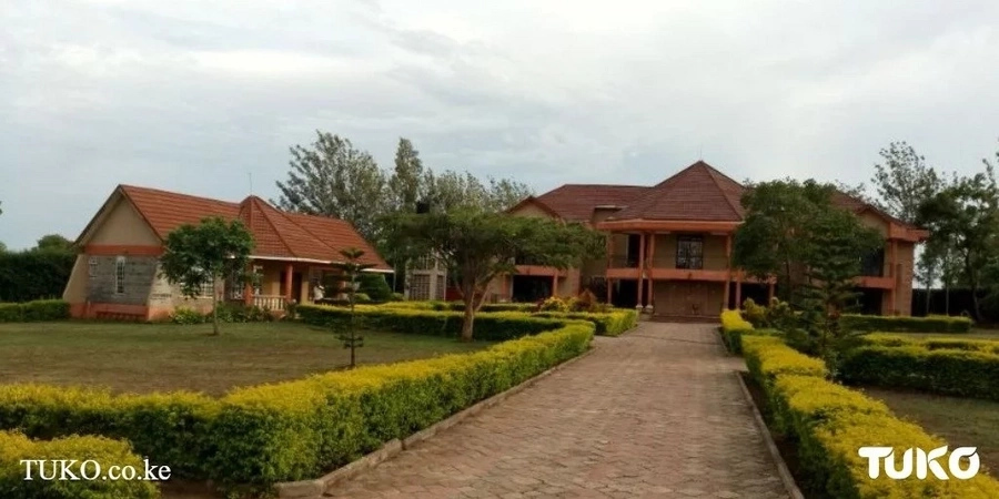 A view into Rarieda MP Otiende Amollo's humongous village homestead