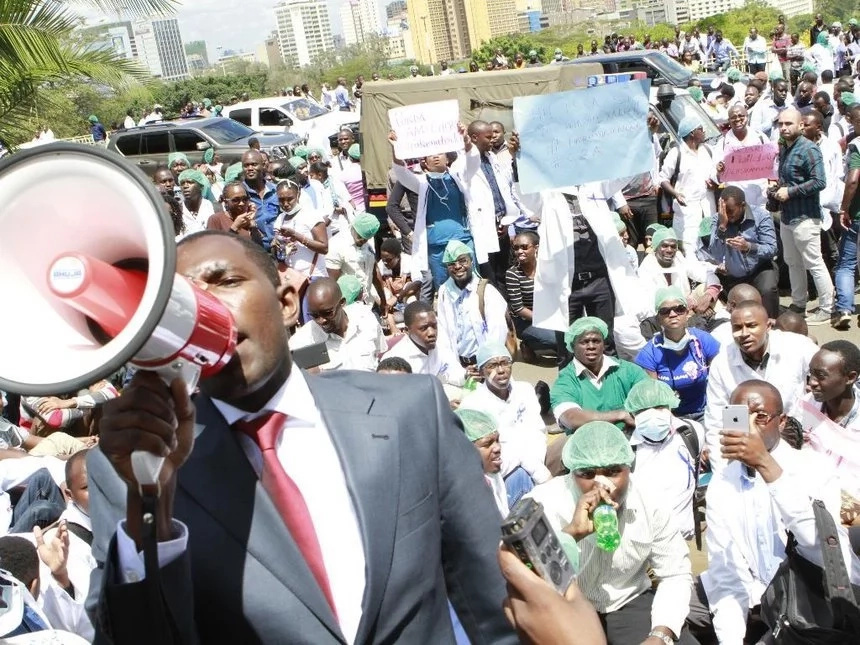 KMPDU Secretary General Ouma Oluga's lengthy letter to 'Sacked' doctors