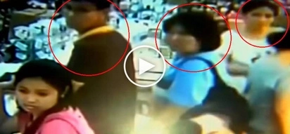 Dangerous Filipino thieves caught on CCTV stealing bag with P90K in Divisoria mall