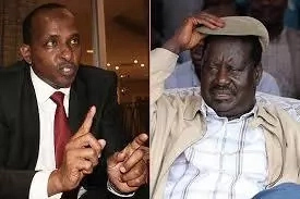 Duale was a nobody, I made him what he is today-Raila