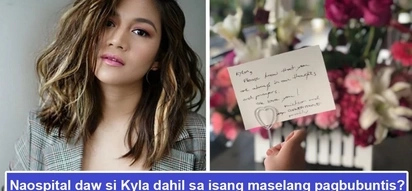 Maselan daw pagbubuntis niya? Was Kyla rushed to the hospital because of a difficult and sensitive pregnancy?