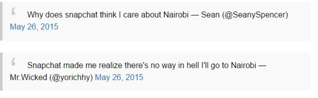 The Time The 'Kenyan Snapchat' Scene Made Our Jaws Drop