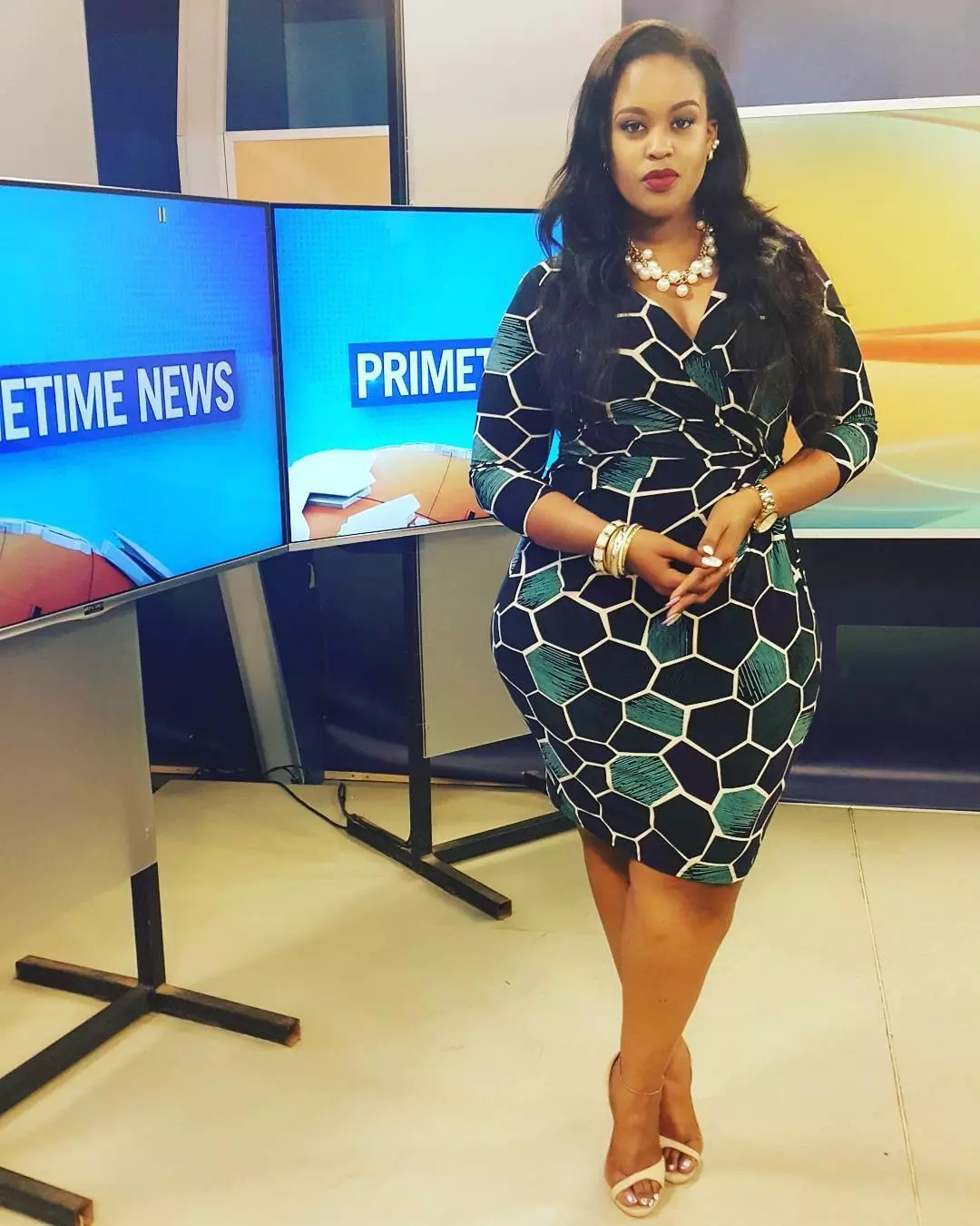 That was fast! Curvy TV anchor Kamene Goro shows off her new ;thing' only weeks after dumping much elderly ex