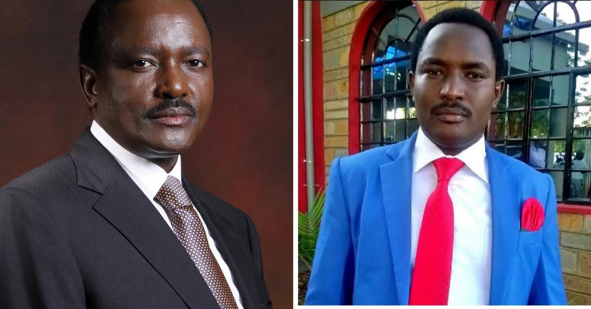 Meet Jesse Kinyanjui, the Kiambu man who looks every way like Kalonzo Musyoka