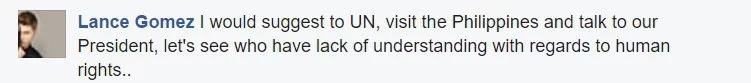 Netizens react to UN's remarks against Duterte