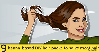9 henna-based DIY hair packs to solve most hair and scalp problems