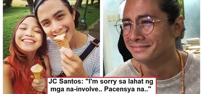 Todo deny lang? JC Santos responds to cheating allegations of ex-girlfriend Teetin; denies affair with stylist