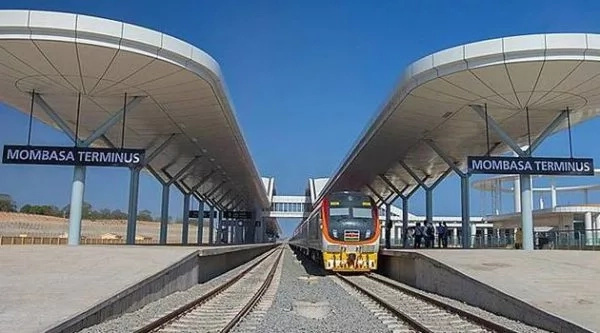 Three people arraigned in court over SGR vandalism