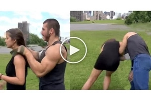 Ladies! This simple technique allows you to fight back anyone! Use it in case of...