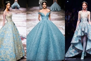 Princess wannabes will definitely drool over Pinoy designer Michael Cinco's magical couture fairytale collection