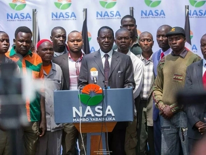 Generals don't go to the war front all the times, Raila explains why he did not show up for demos