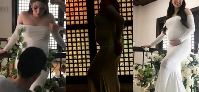 Kylie Padilla channels her inner Amihan in her gorgeous maternity shoot