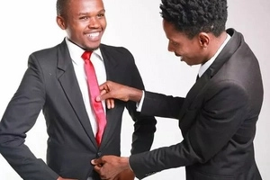 Eric Omondi and Chipukeezy love taking photos together when half naked, Take a look