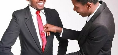 You will be shocked at the number of times Eric Omondi and Chipukeezy took pictures when HALF NAKED (PHOTOS)